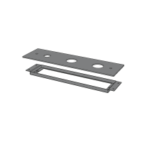 3-hole plate for bath group