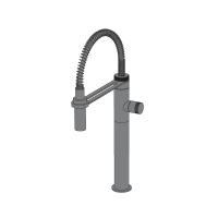 Hiro sink mixer w/pull-out shower