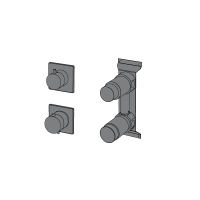 2-ways thermostatic